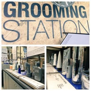 The Grooming Station.